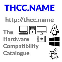 THCC - the hardware compatibility catalogue: Laptops, Desktops